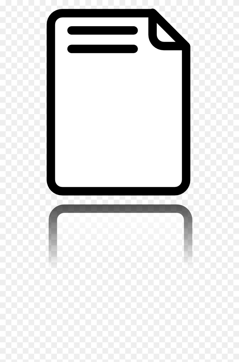 512x1209 Paper Clipart - Loose Leaf Paper Clipart