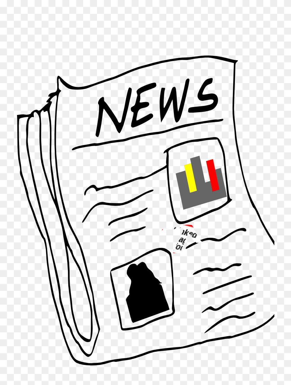 Paper Clipart Magazine - Paper Clipart Transparent