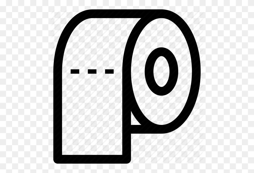 Paper, Paper Roll, Roll, Toilet Paper, Toilet Roll Icon - Toilet Paper PNG