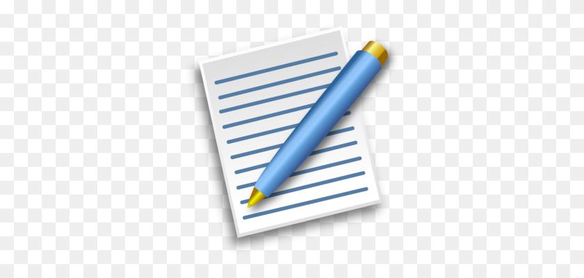 Paper Pens Notebook Quill Ballpoint Pen - Notebook Paper PNG