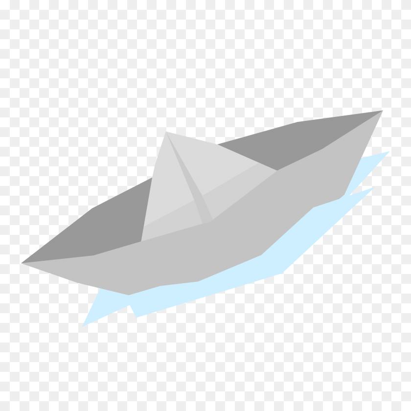 Paperboat Minimal Flat Design Icons Png - Paper Boat PNG