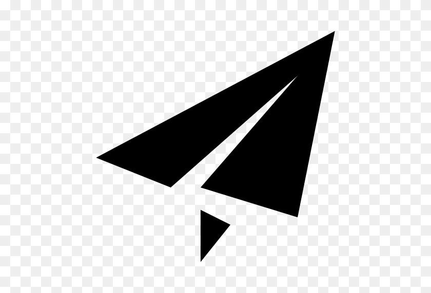 Paperplane A, Paperplane, Plane Icon With Png And Vector Format - Paper Plane PNG