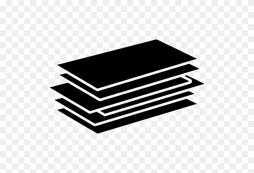 512x512 Papers Stack Png Icon - Stack Of Papers PNG