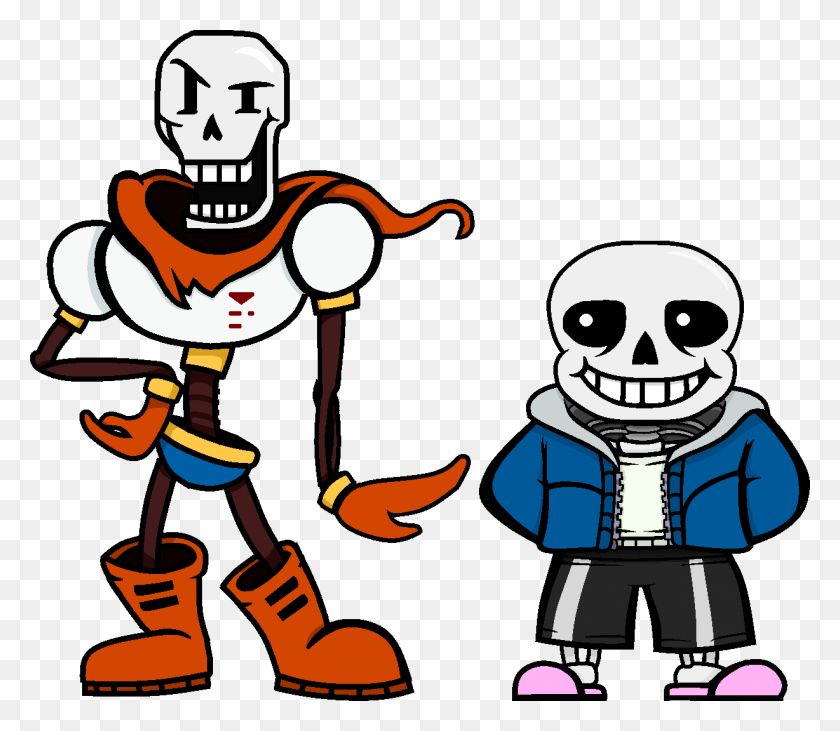 Papyrus And Sans Finally Reunited In Hd Undertale - Papyrus PNG