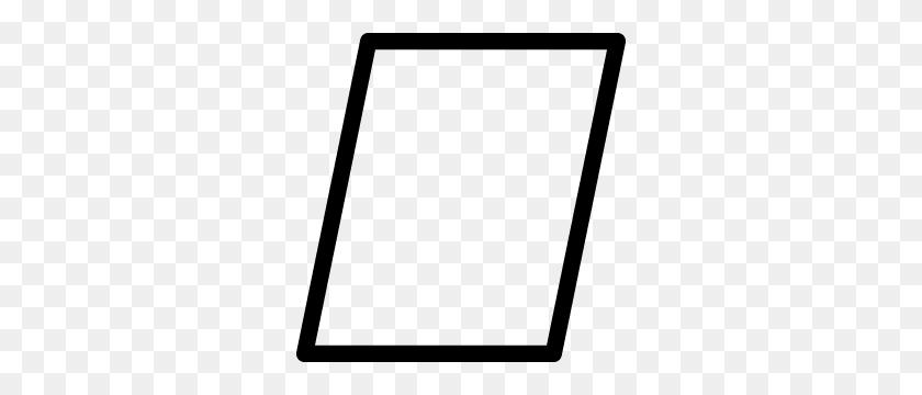 Parallelogram Outline Makergrafix - Parallelogram PNG