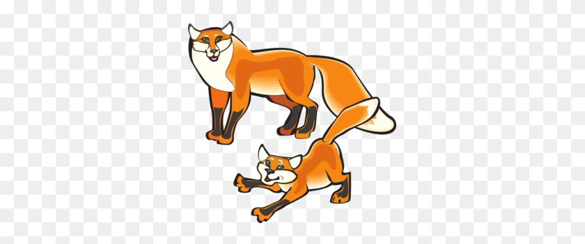 Parent And Child Foxes Png, Clip Art For Web - Parent Child Clipart