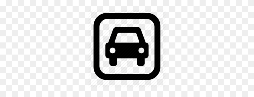 Parking Lot Safety Clipart - Safety Clipart Black And White