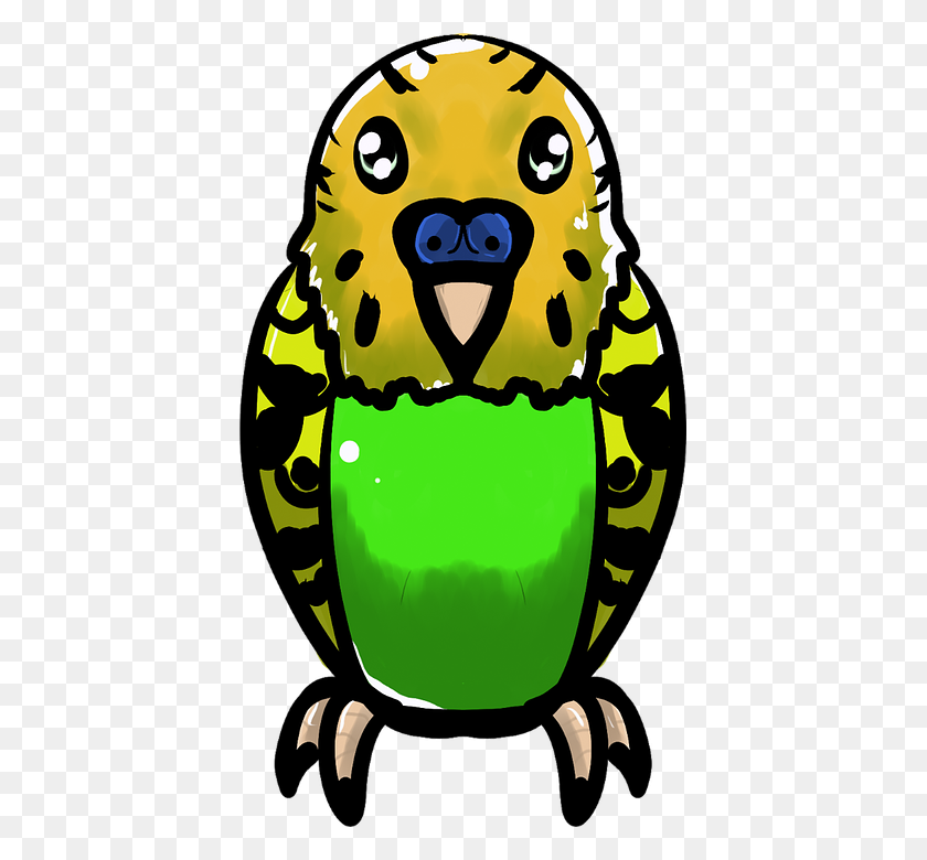 Parrot Clipart Small Parrot - Parrot Clipart Black And White