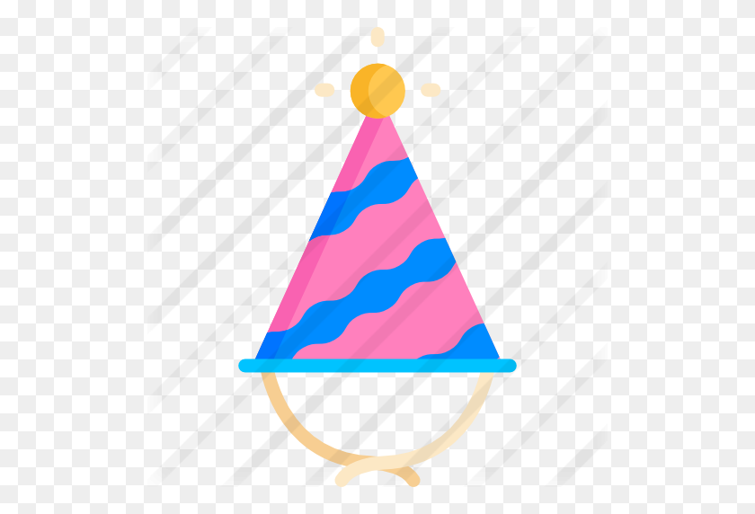Party Hat - Birthday Hat PNG