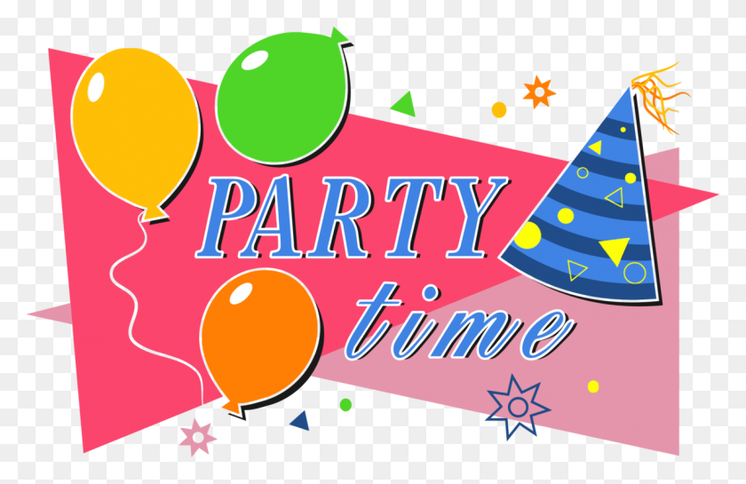 Party Hat Birthday Children's Party - Party Favor Clipart