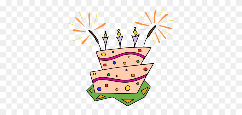 363x340 Party Hat Birthday Children's Party - Free Clipart Birthday Celebration