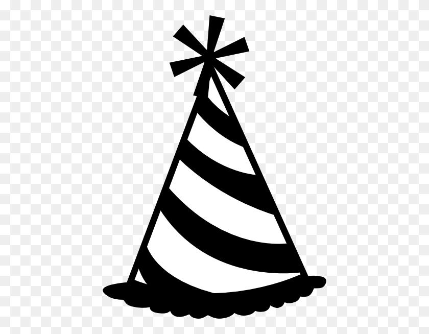 438x594 Party Hat Clip Art - Free Clipart Birthday Celebration