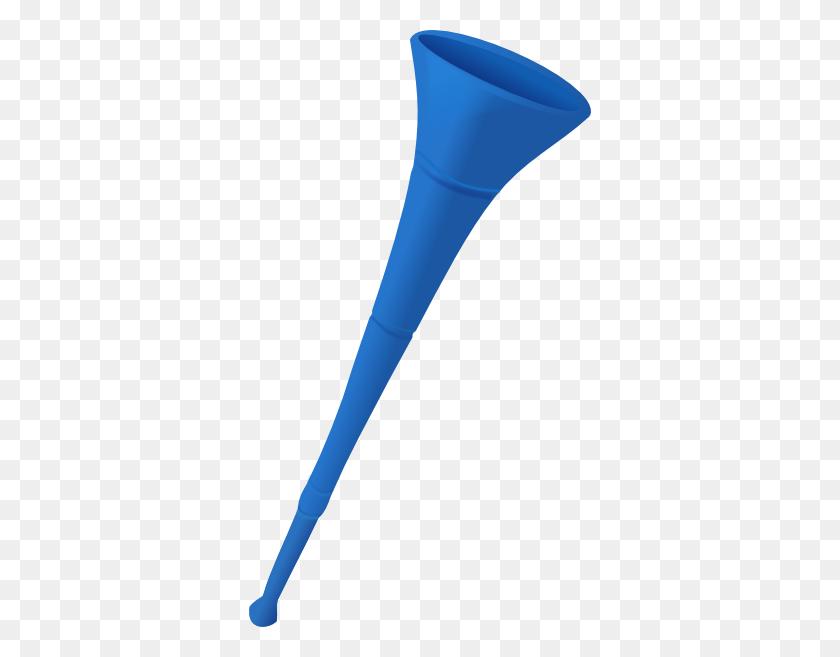 Party Horn Clip Art Blue Horn - Party Blower Clipart