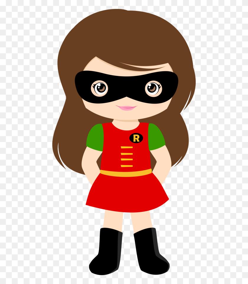 Party Superhero, Hero - Robin Superhero Clipart