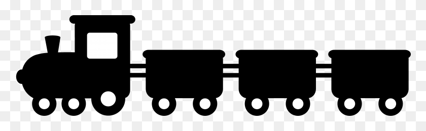 Passenger Train Png Black And White Transparent Passenger Train - Train Track PNG