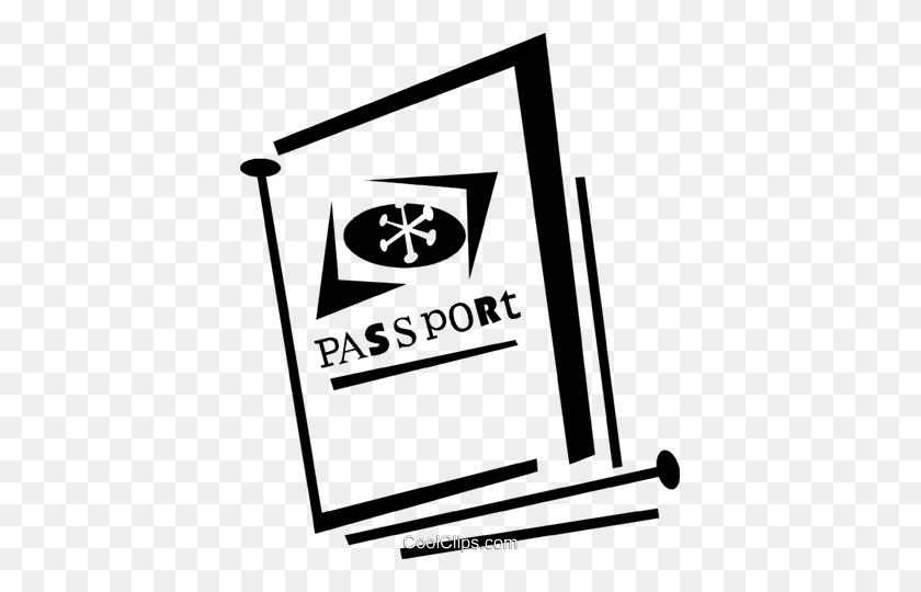 Passport Royalty Free Vector Clip Art Illustration - Passport Clipart