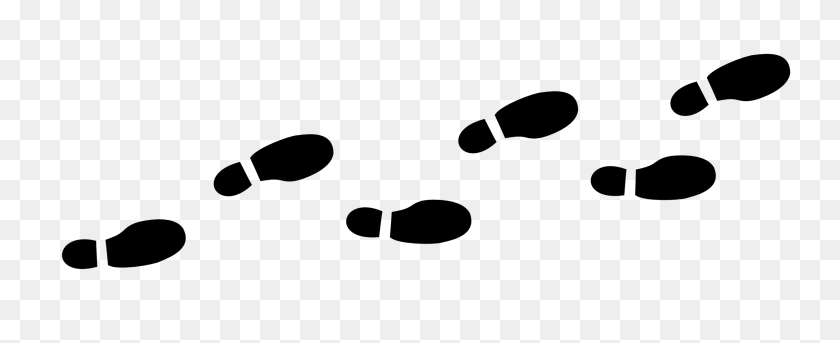 Path Clipart Footprint - Winding Road Clipart
