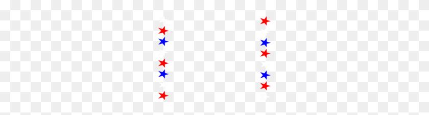 Patriotic Clip Art Borders Clip Art Of Patriotic Border - Patriotic Stars Clipart