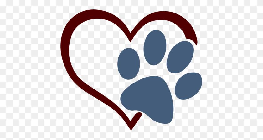 Paw Heart Scrapbooking - Puppy Paw Print Clip Art