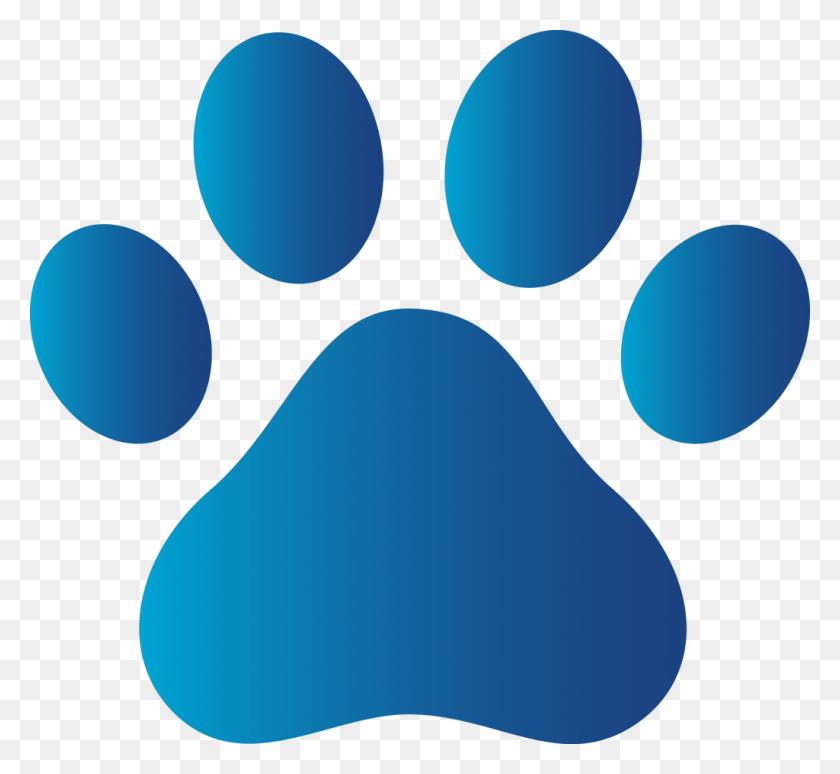 Paw Print Clip Art - Dog Footprint Clipart