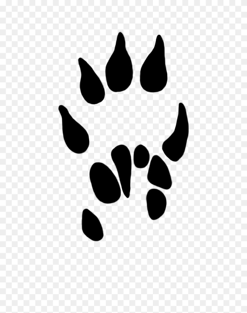 Cougar paw print clip art clipart 2 - Cliparting.com