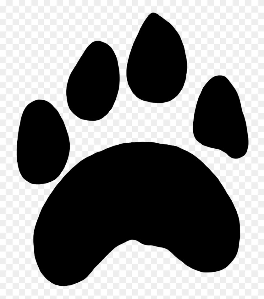 Cougar Mascot Clipart Free Clipart Image Image - Bobcat Paw Print - Png  Download (#5172) - PinClipart