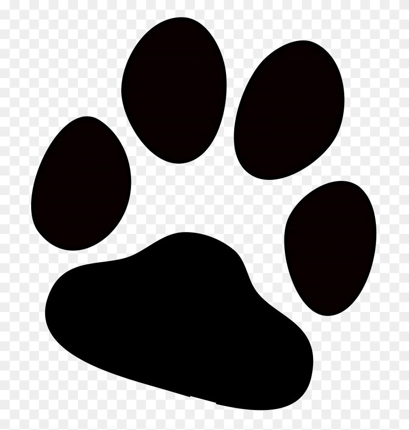 Paw Print Png Hd Transparent Paw Print Hd Images - Dog Footprint Clipart