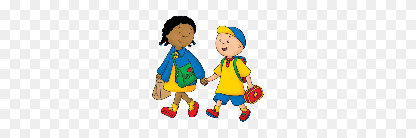 Pbs Kids School, Naar School - Kids Walking PNG