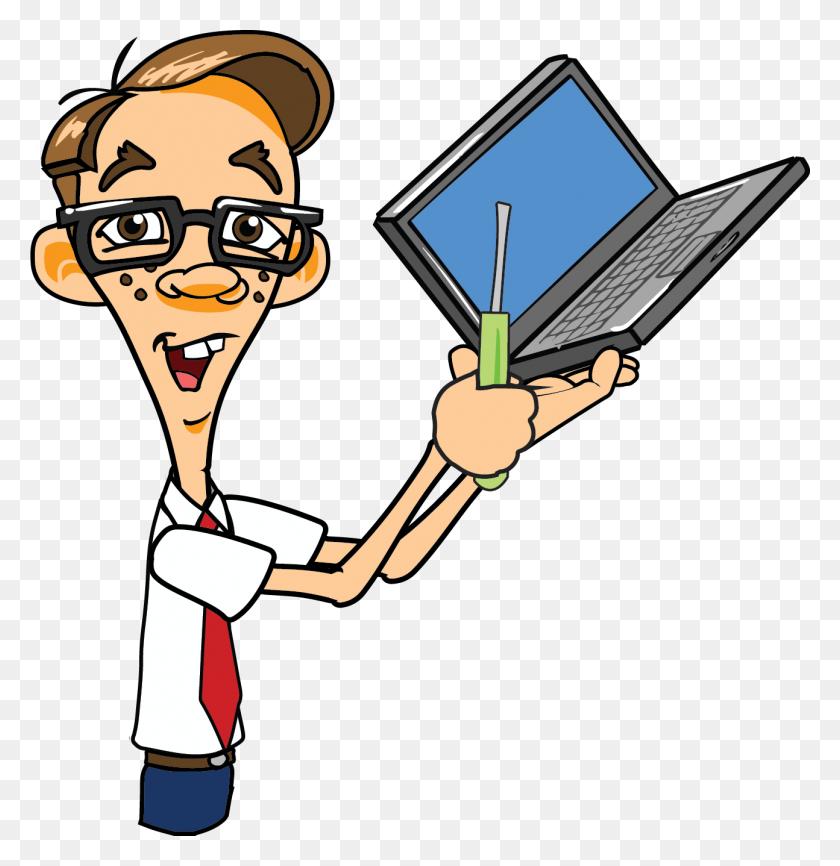 Pc Clipart Computer Expert - Computer Repair Clipart