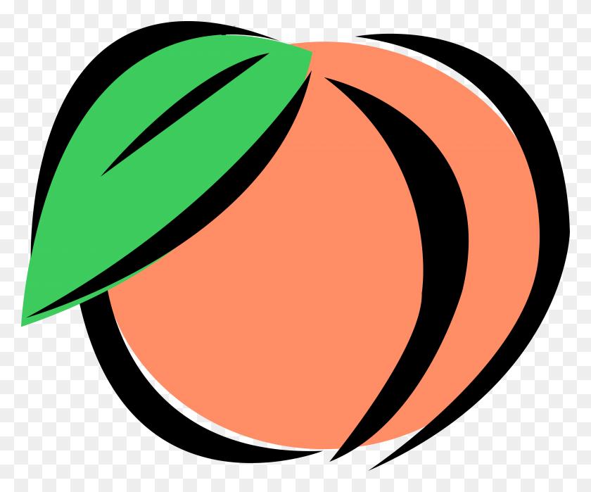 Peach Clipart Food - Peach Clipart