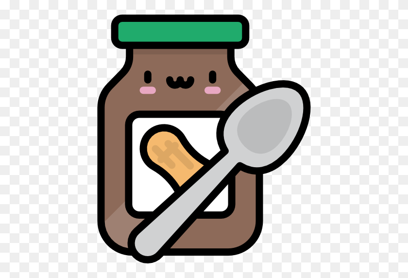 Peanut Butter Illustration, A Vector Cartoon Illustration Of.. Royalty Free  Cliparts, Vectors, And Stock Illustration. Image 97548091.