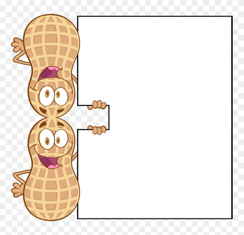 Peanut Clipart Peanut Shell, Peanut Peanut Shell Transparent Free - Peanut Clip Art Free