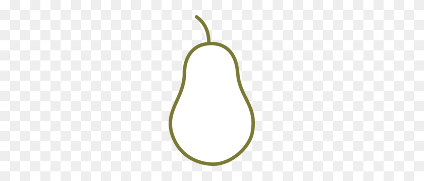 Pear Shaped Clipart - Pear Clipart