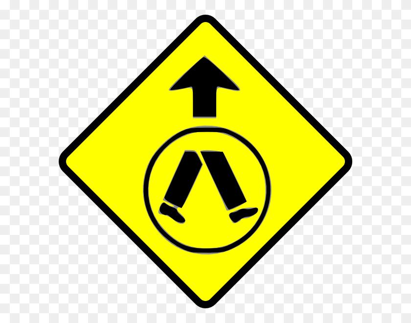 Pedestrians Crossing Clip Art - Pe Class Clipart