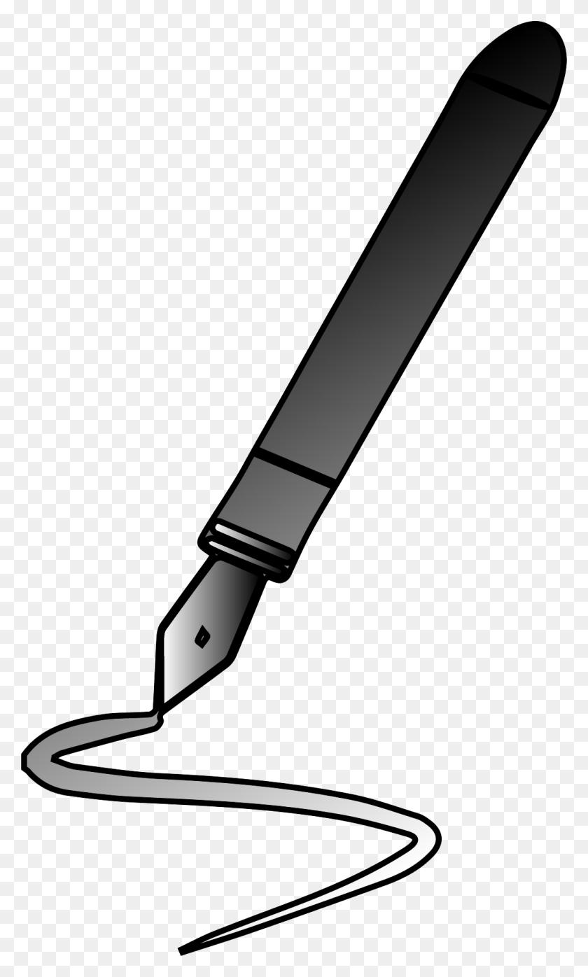 1076x1844 Pen Clipart Calligraphy Pen - Pen Clipart PNG