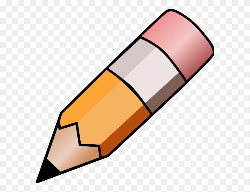 Pencil Clip Art Free Pencil Clipart Free Pencil Clip Art Black - Orange Clipart Black And White