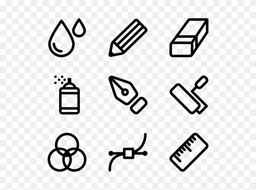 Pencil Draw Icon Packs - Drawing PNG