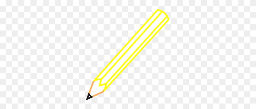 Pencil Outline Clip Art - Pencil Outline Clipart