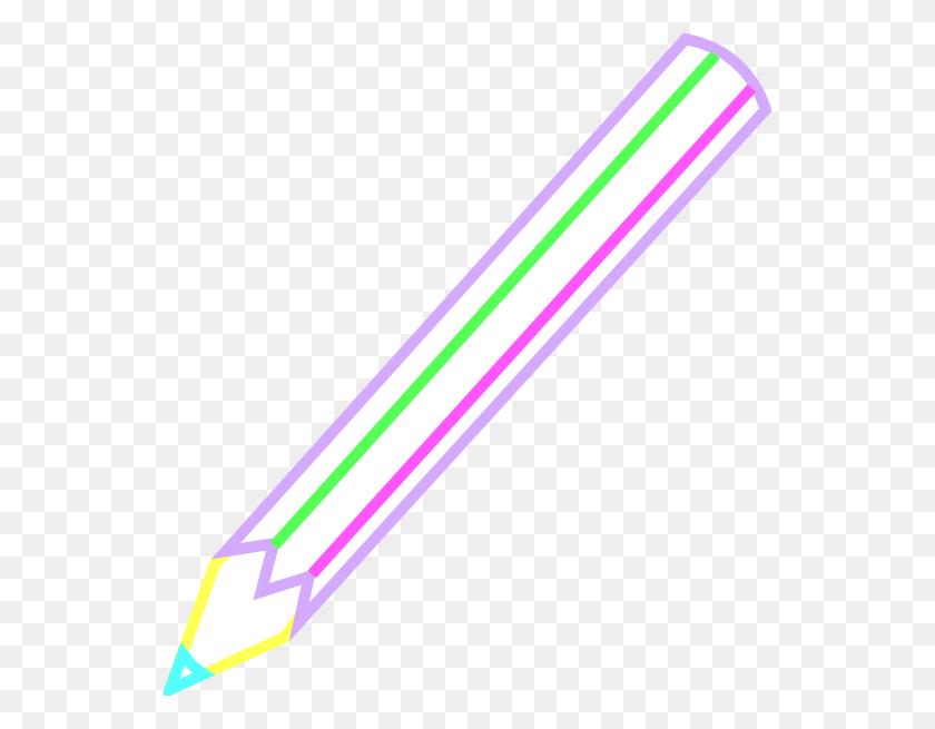 Pencil Outline Color Clip Arts Download - Pencil Outline Clipart
