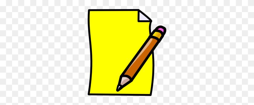 Pencil Writing Clipart - Pen Writing Clipart