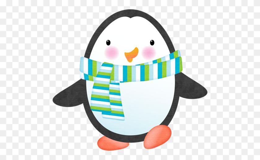 Penguin Pinguins Penguins, Winter Clipart And Clip Art - Winter Animals Clipart