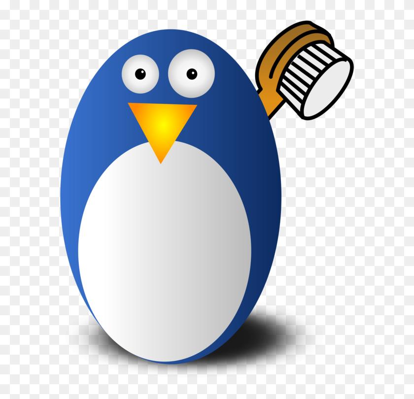 Penguin Tux Racer Linux Tuxedo - Tuxedo Clipart