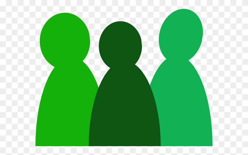 People Clipart Green - Ambassador Clipart