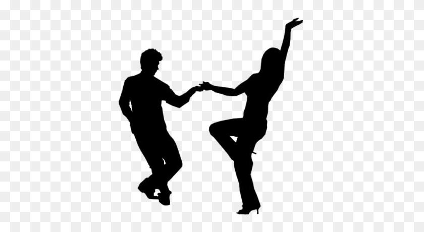 People Dancing Silhouette Icon - People Dancing PNG