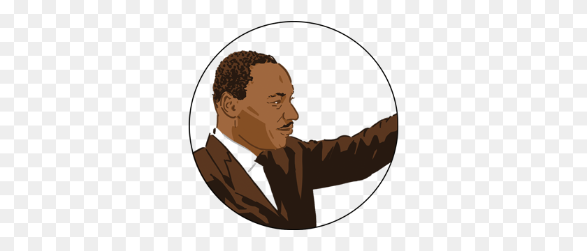 People Esl Library - Martin Luther King Clipart