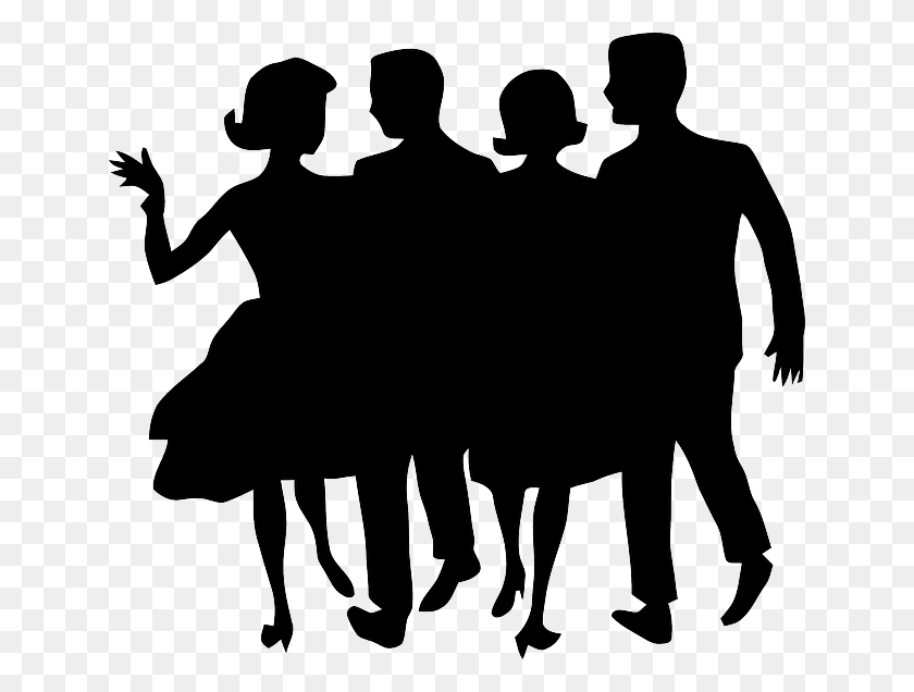 People Partying Clipart Group With Items - Stage Performance Clipart