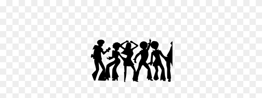 People Partying Clipart Group With Items - Friends Holding Hands Clipart