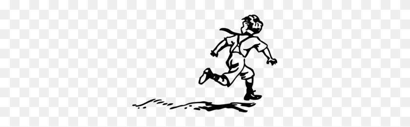 People Running Away Clipart - Running Away Clipart