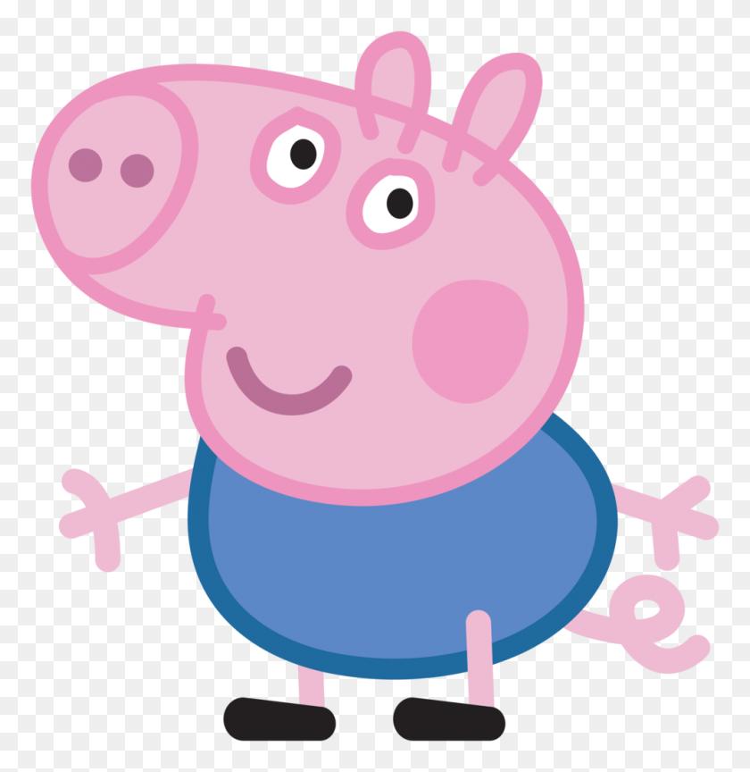 Peppa Pig George Cartoon Png - Pig Clipart
