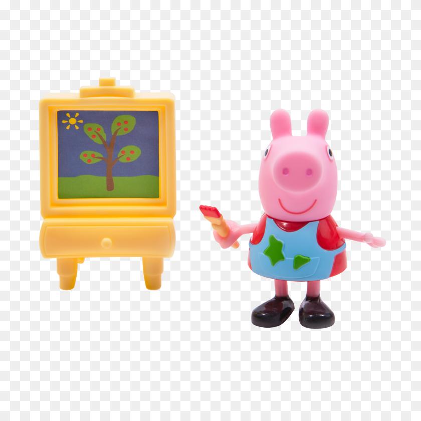 Peppa Pig Peppa W Painting - Peppa Pig PNG – Stunning free